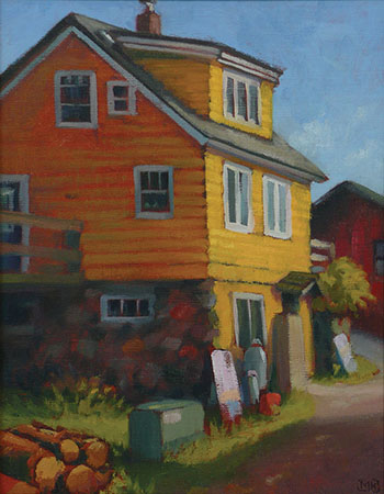 North House Alley - 14x11